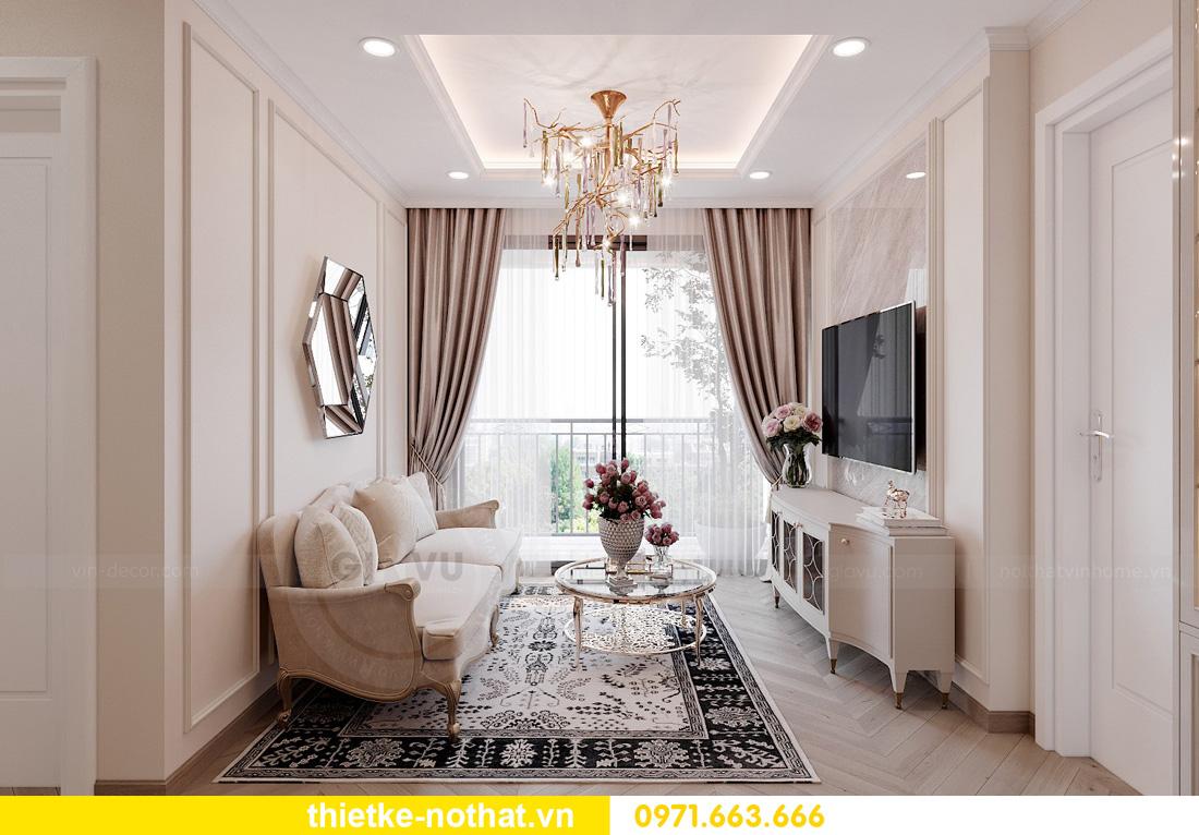 Thiết kế thi công nội thất chung cư West Point tòa W1 căn 05 4