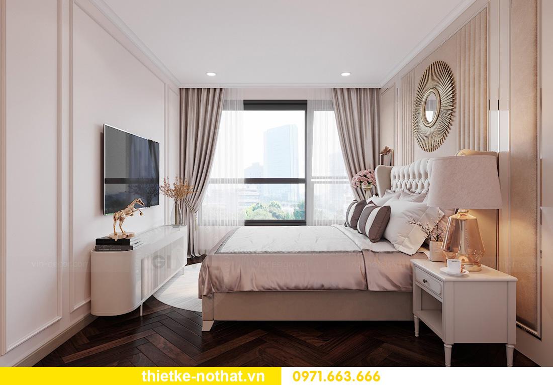 Thiết kế thi công nội thất chung cư West Point tòa W1 căn 05 6