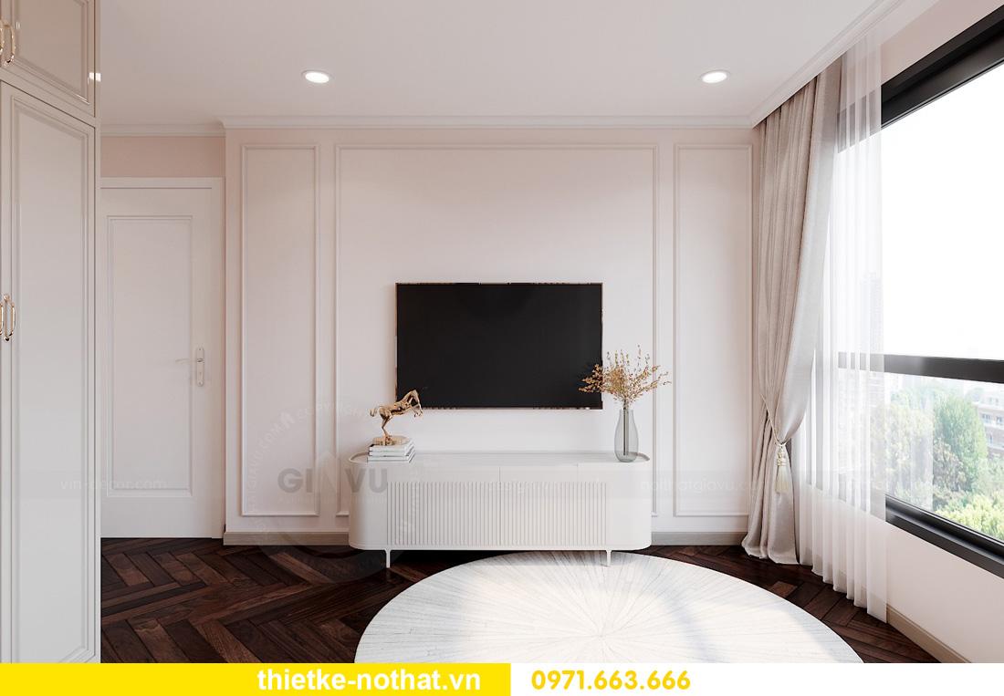 Thiết kế thi công nội thất chung cư West Point tòa W1 căn 05 8