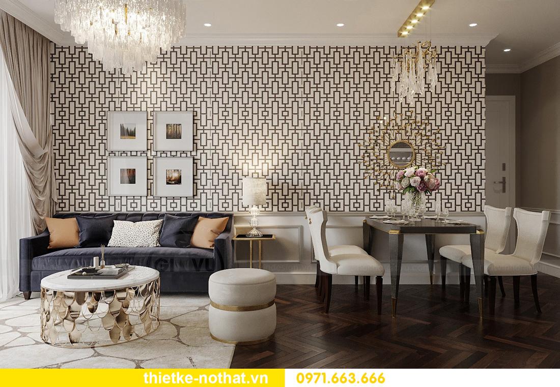 thiết kế nội thất căn hộ chung cư West Point tòa W3 căn 12 2