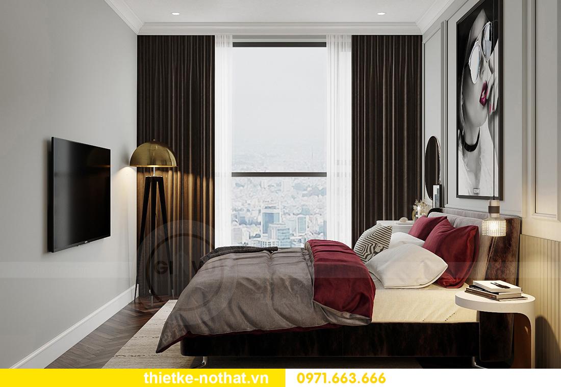thiết kế nội thất căn hộ chung cư West Point tòa W3 căn 12 5