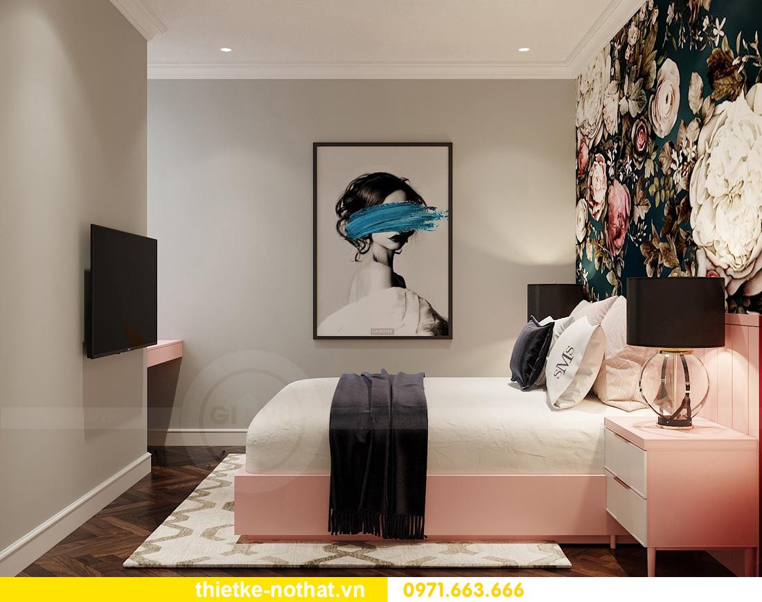thiết kế nội thất căn hộ chung cư West Point tòa W3 căn 12 9