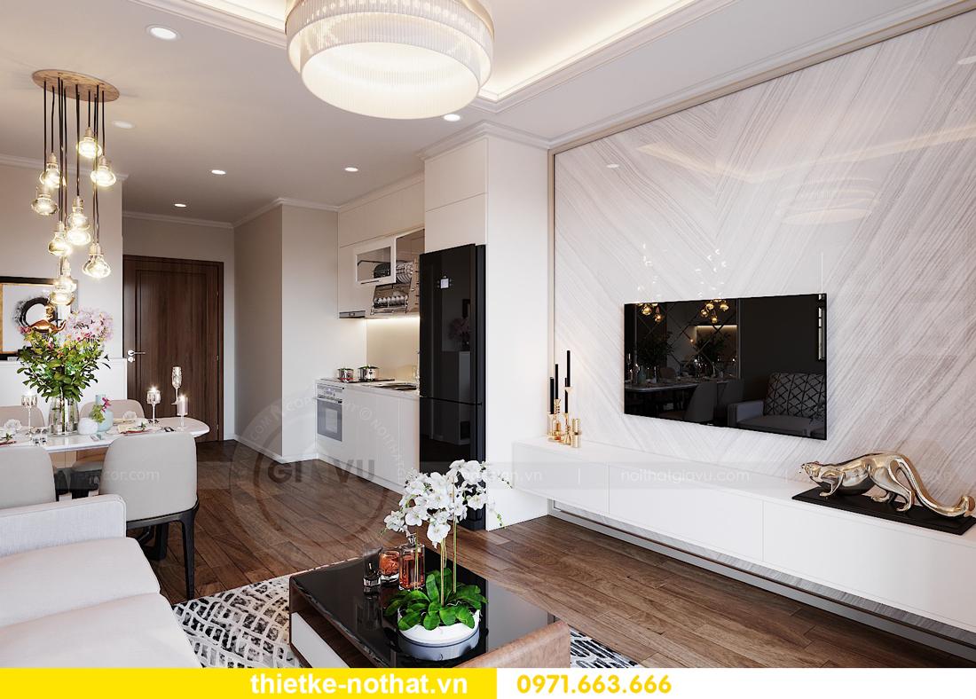 thiết kế nội thất căn hộ Vinhomes West Point tòa W3 căn 08A 4
