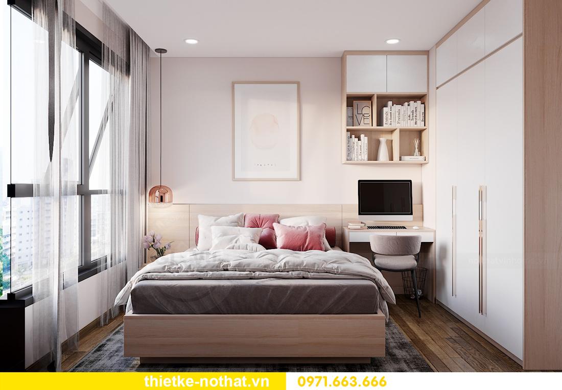 mẫu nội thất chung cư Vinhomes West Point tòa W1 CH03 9