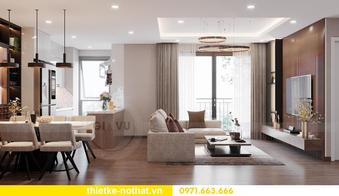 mẫu thiết kế nội thất chung cư West Point căn hộ 3 phòng ngủ 04