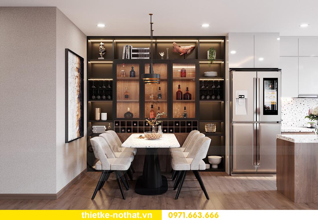 mẫu thiết kế nội thất chung cư West Point căn hộ 3 phòng ngủ 05