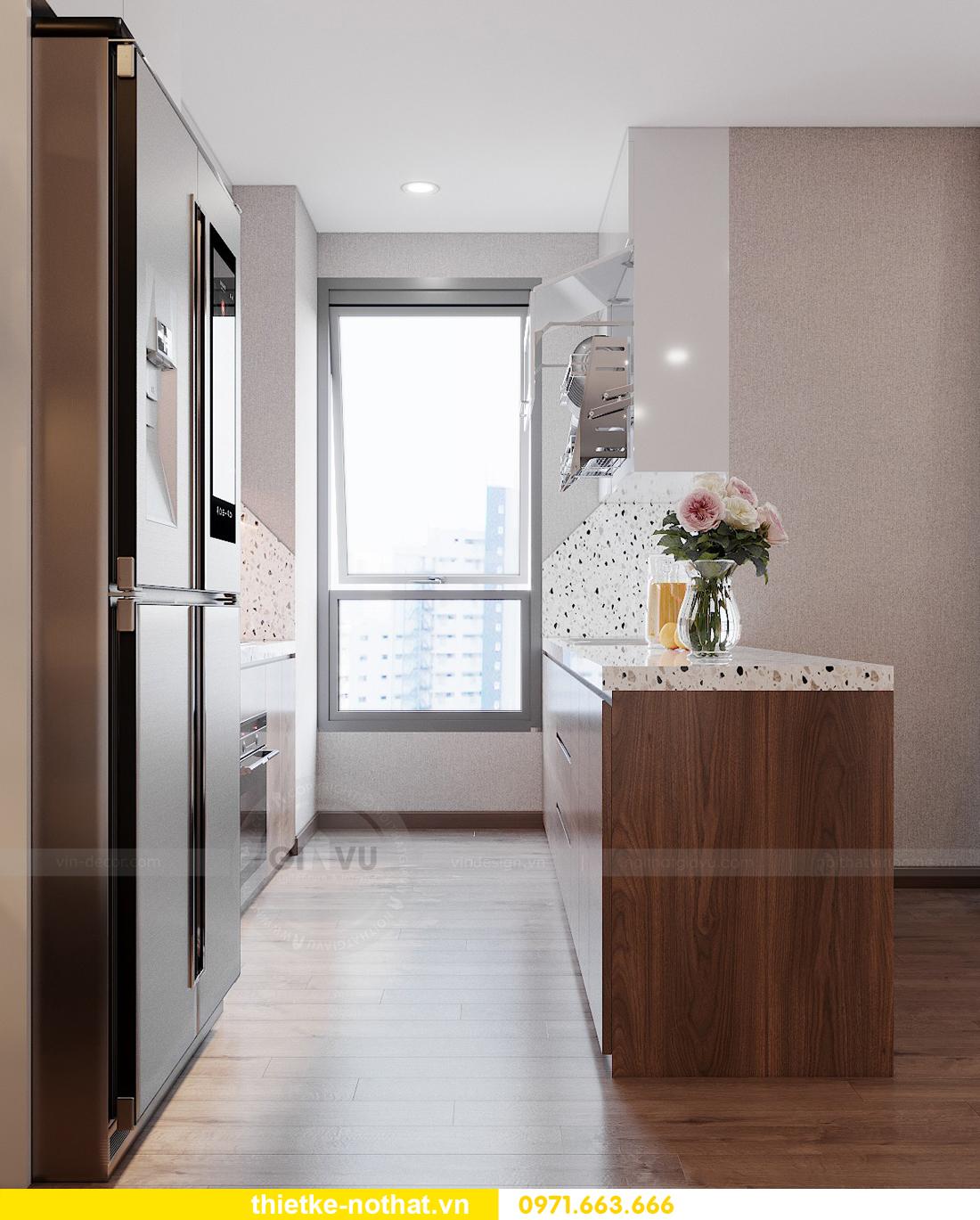 mẫu thiết kế nội thất chung cư West Point căn hộ 3 phòng ngủ 06