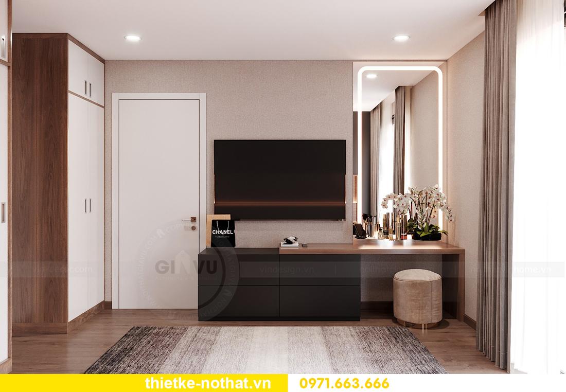 mẫu thiết kế nội thất chung cư West Point căn hộ 3 phòng ngủ 11