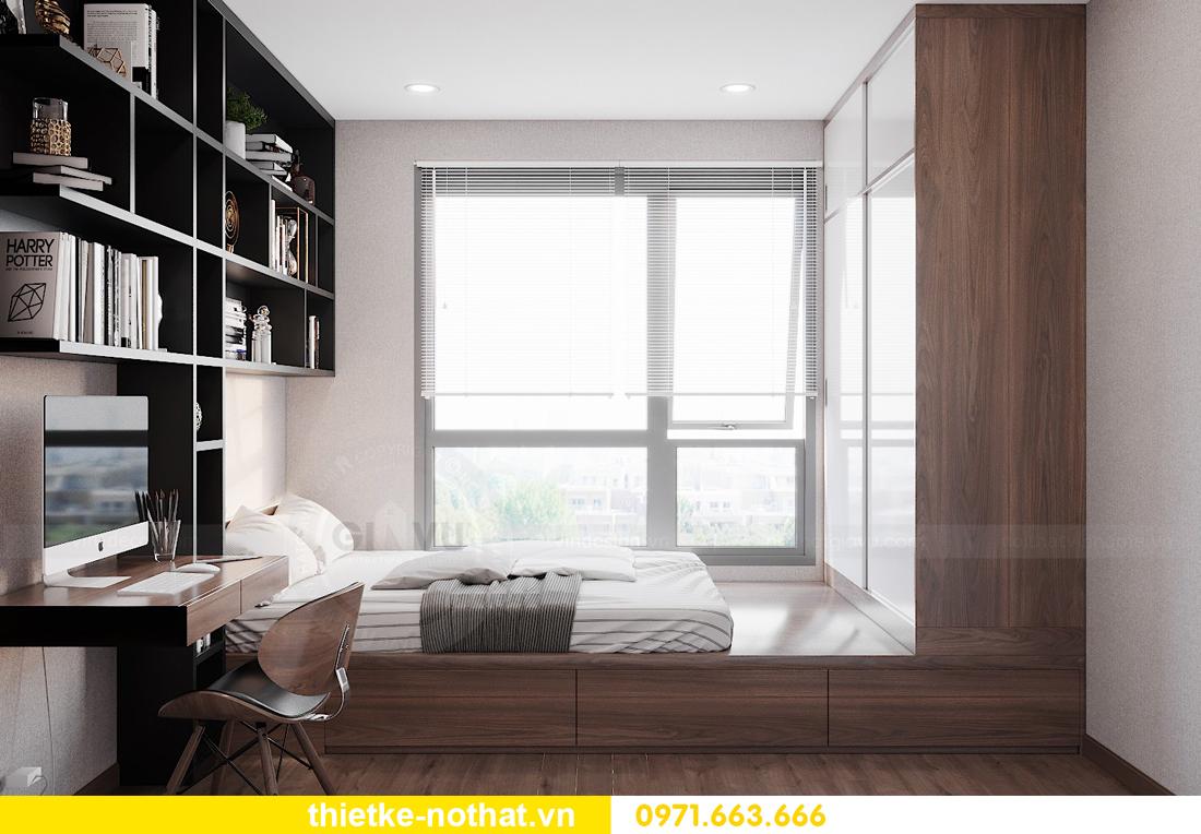 mẫu thiết kế nội thất chung cư West Point căn hộ 3 phòng ngủ 13