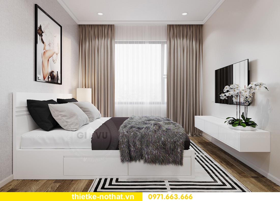 thiết kế nội thất căn hộ 2 ngủ tại Vinhomes West Point 07