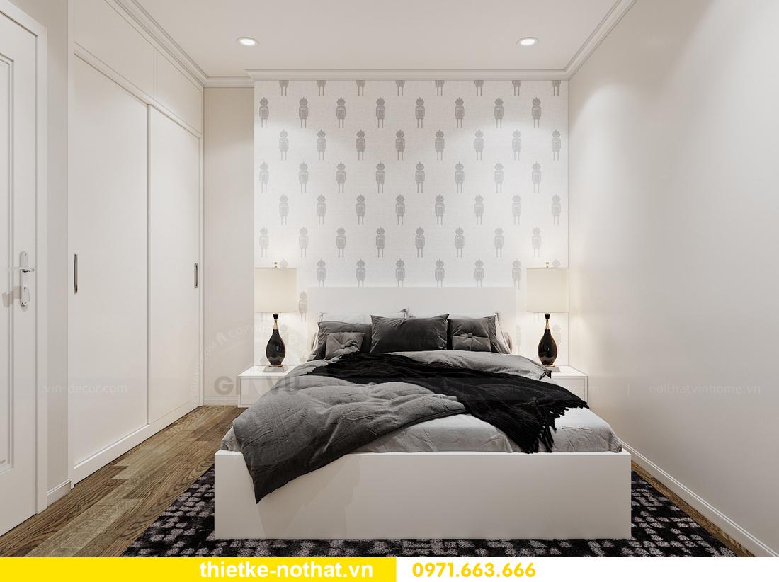 thiết kế nội thất căn hộ 2 ngủ tại Vinhomes West Point 09
