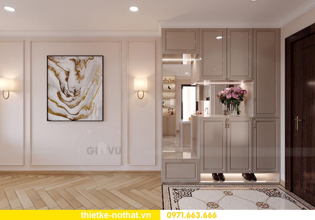 thiết kế nội thất chung cư Smart City căn hộ 3 phòng ngủ đẹp 01