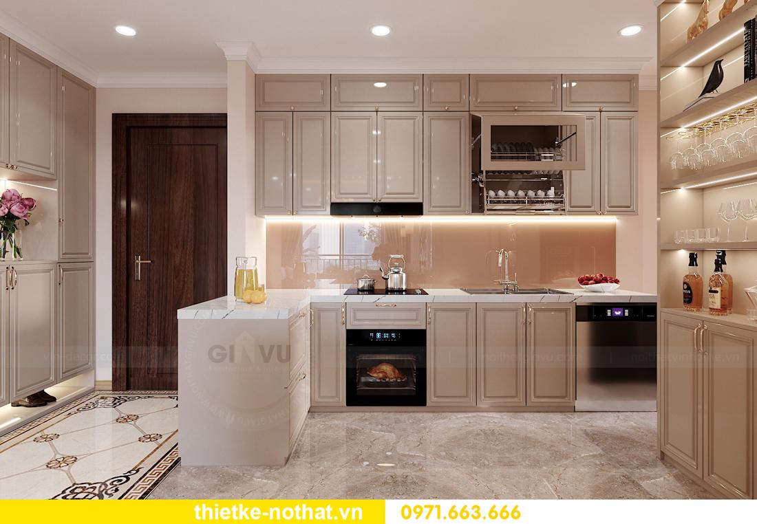 thiết kế nội thất chung cư Smart City căn hộ 3 phòng ngủ đẹp 02