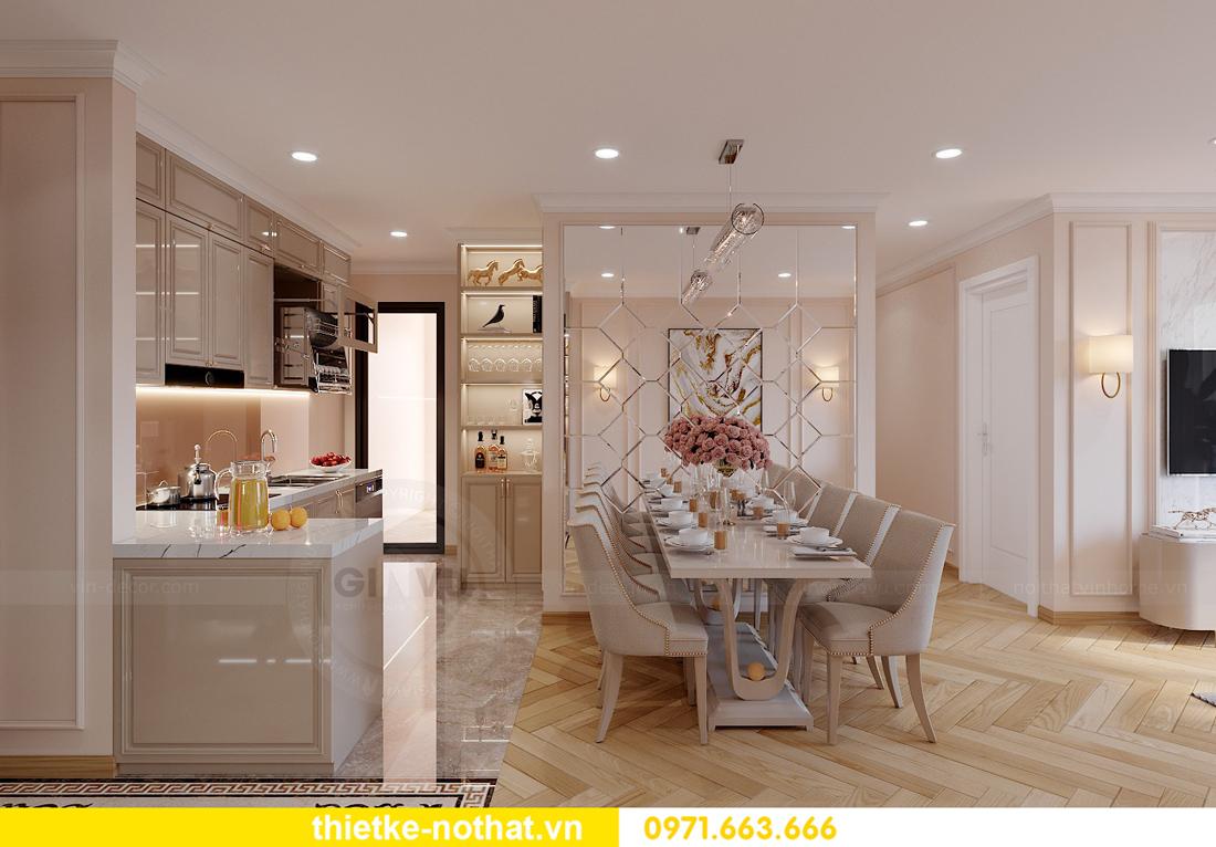 thiết kế nội thất chung cư Smart City căn hộ 3 phòng ngủ đẹp 03