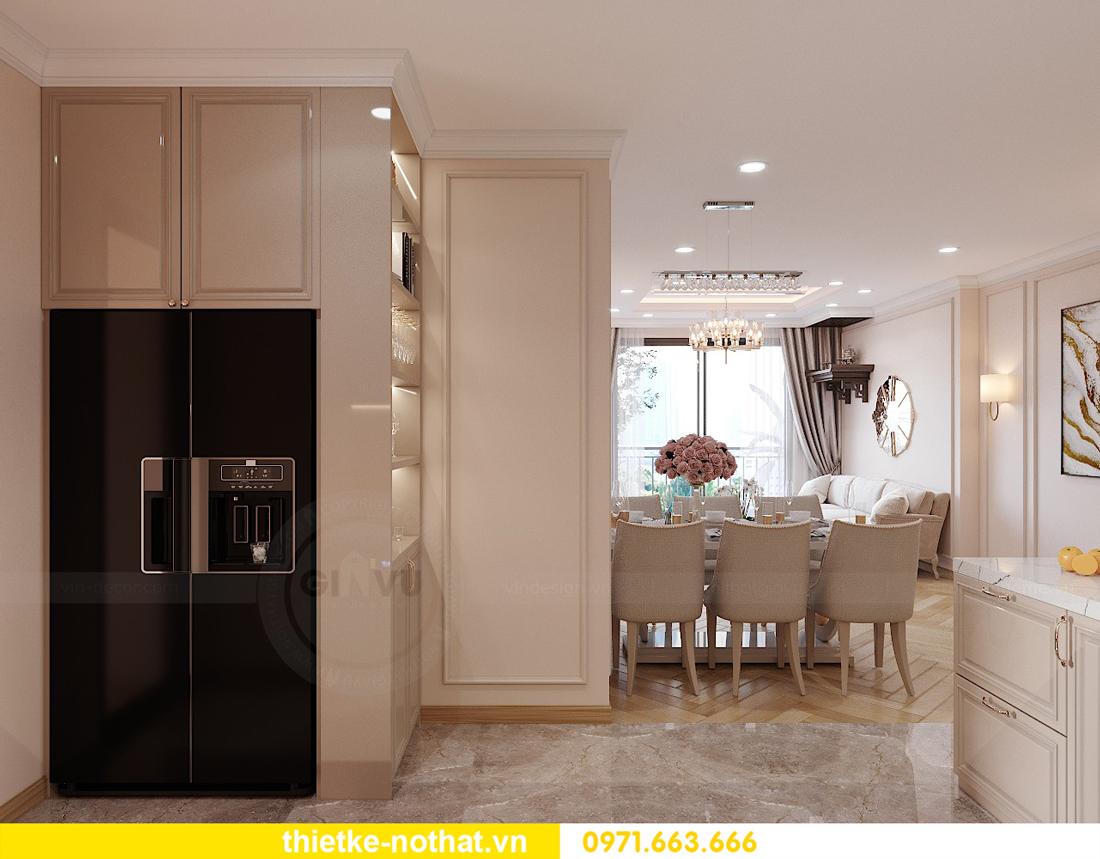 thiết kế nội thất chung cư Smart City căn hộ 3 phòng ngủ đẹp 04