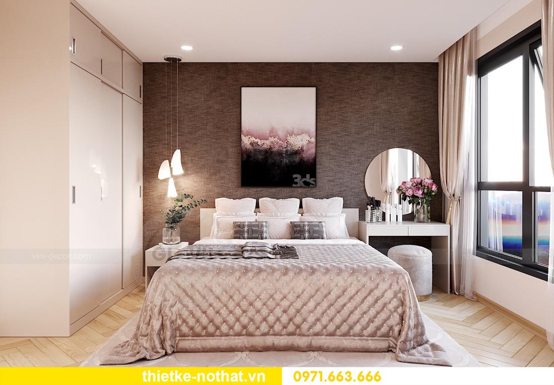 thiết kế nội thất chung cư Smart City căn hộ 3 phòng ngủ đẹp 08