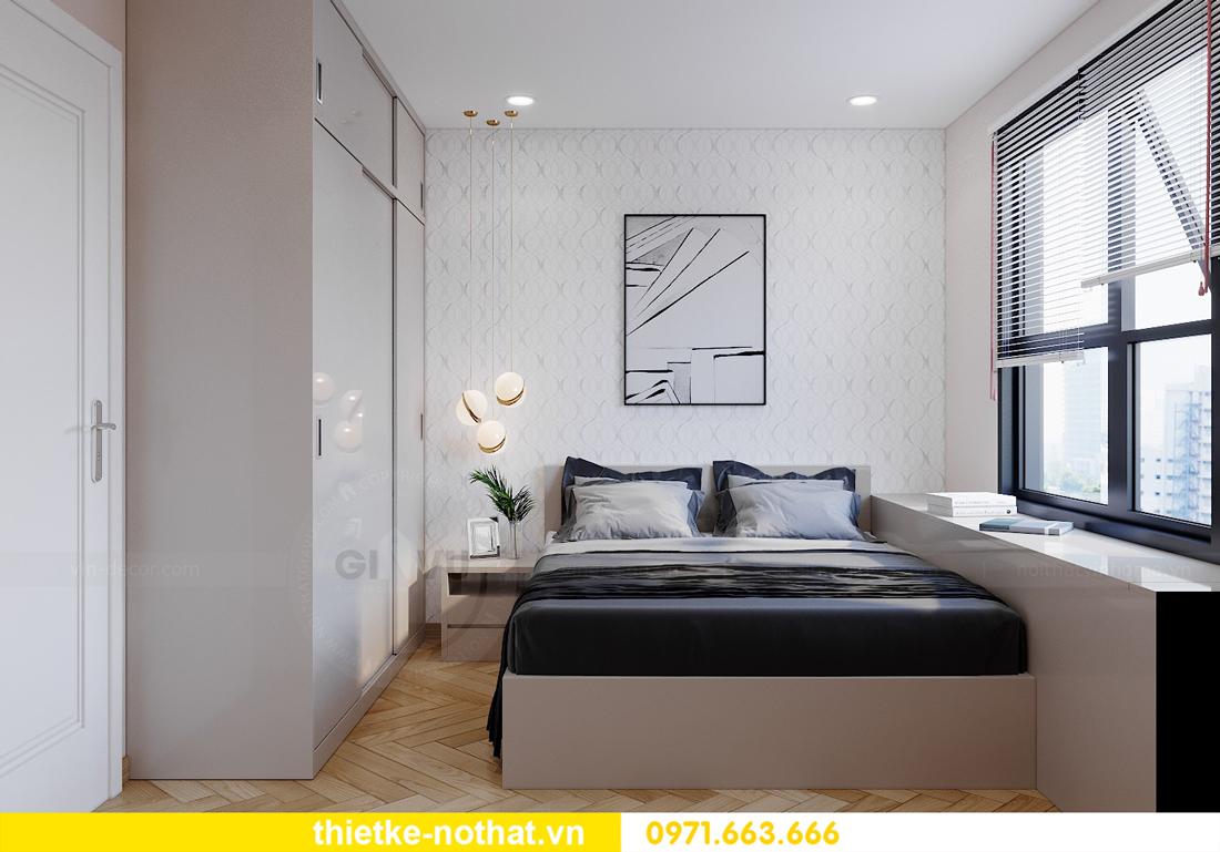 thiết kế nội thất chung cư Smart City căn hộ 3 phòng ngủ đẹp 10