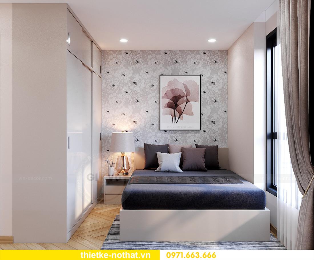 thiết kế nội thất chung cư Smart City căn hộ 3 phòng ngủ đẹp 13