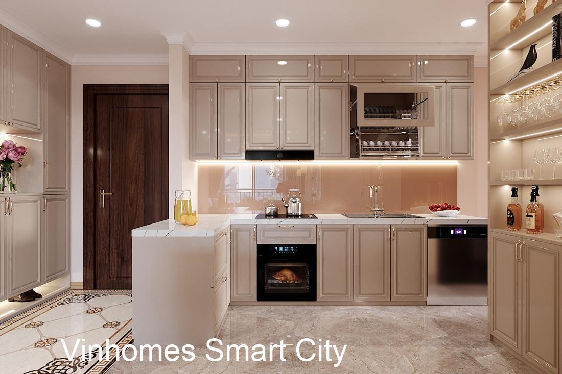 Thiết Kế Nội Thất Chung Cư Smart City Căn Hộ 3 Phòng Ngủ đẹp