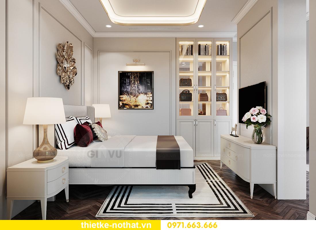thiết kế nội thất biệt thự liền kề Vinhomes OCean Park nhà anh Quân 06
