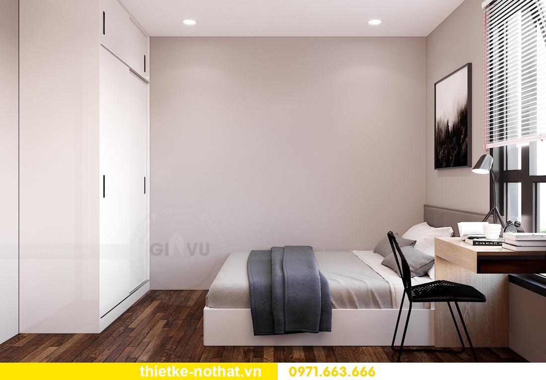 thiết kế nội thất tại Vinhomes West Point tòa W2 căn 11A 8