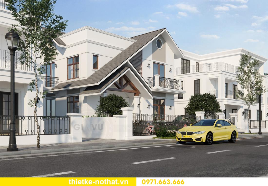 thiết kế kiến trúc ngoại thất biệt thự hiện đại 3