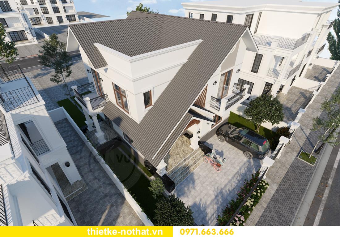 thiết kế kiến trúc ngoại thất biệt thự hiện đại 5