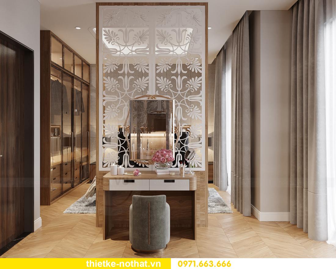 thiết kế nội thất biệt thự đẹp tại Vinhomes OCean Park 10