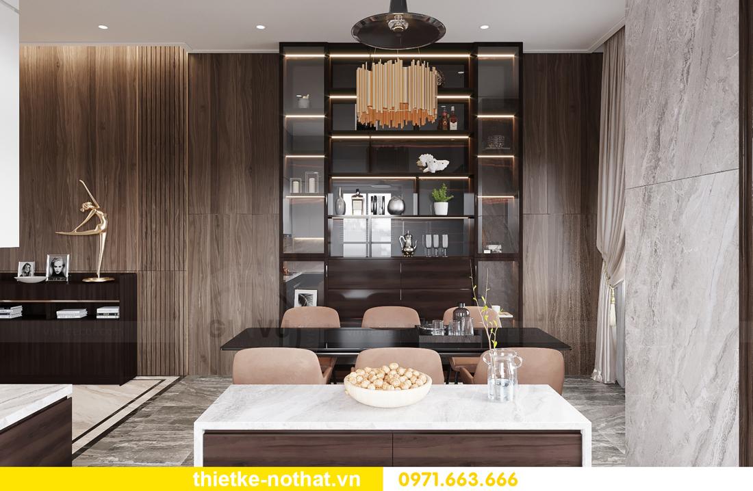 thiết kế nội thất biệt thự đẹp tại Vinhomes OCean Park 4