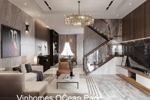 Thiết Kế Nội Thất Biệt Thự đẹp Tại Vinhomes OCean Park Gia Lâm