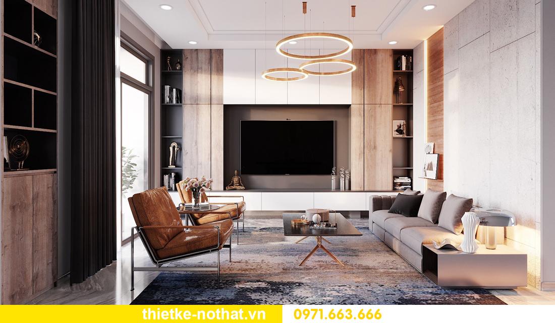 thiết kế nội thất biệt thự hiện đại sang trọng 4