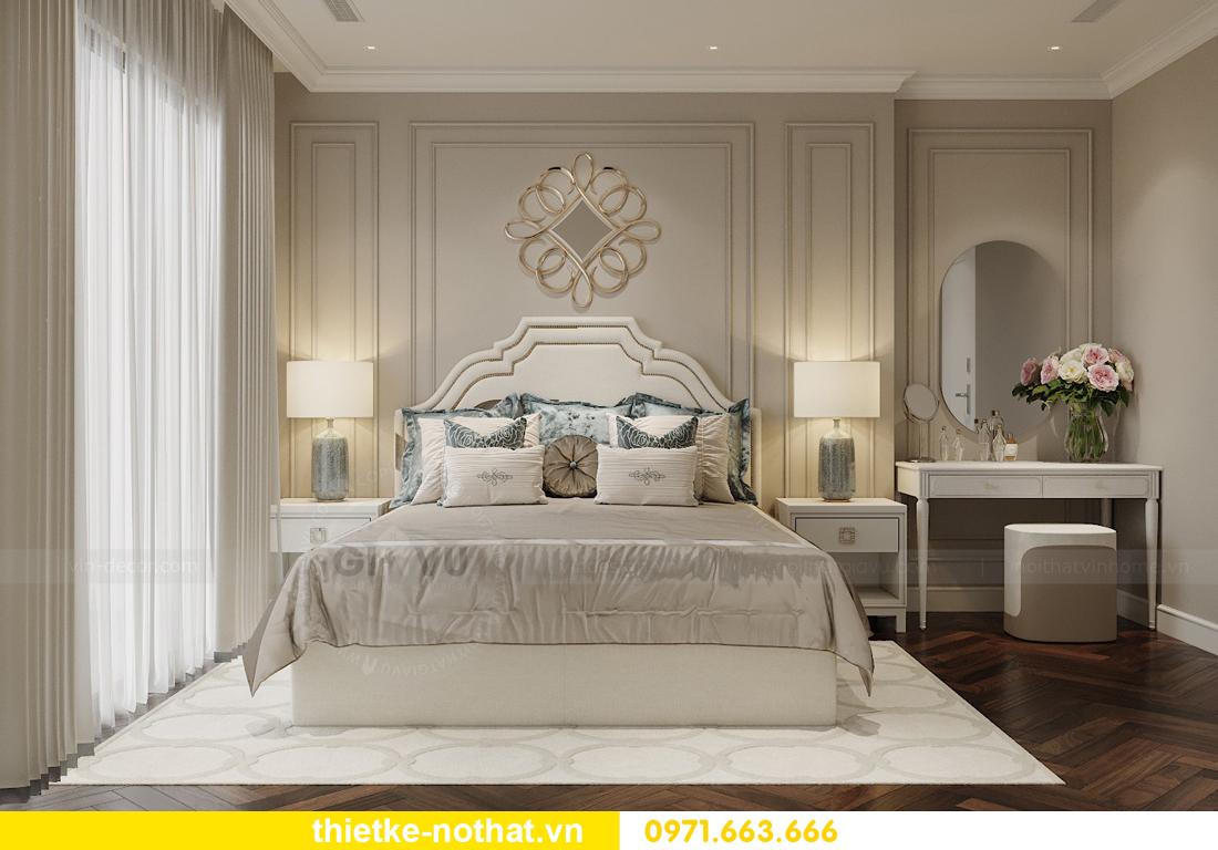 thiết kế nội thất căn hộ 100m2 3 phòng ngủ nhà chị Nga 8