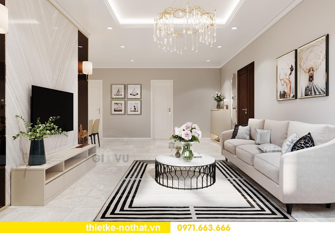 thiết kế nội thất chung cư IA20 Ciputra căn 3 phòng ngủ 2