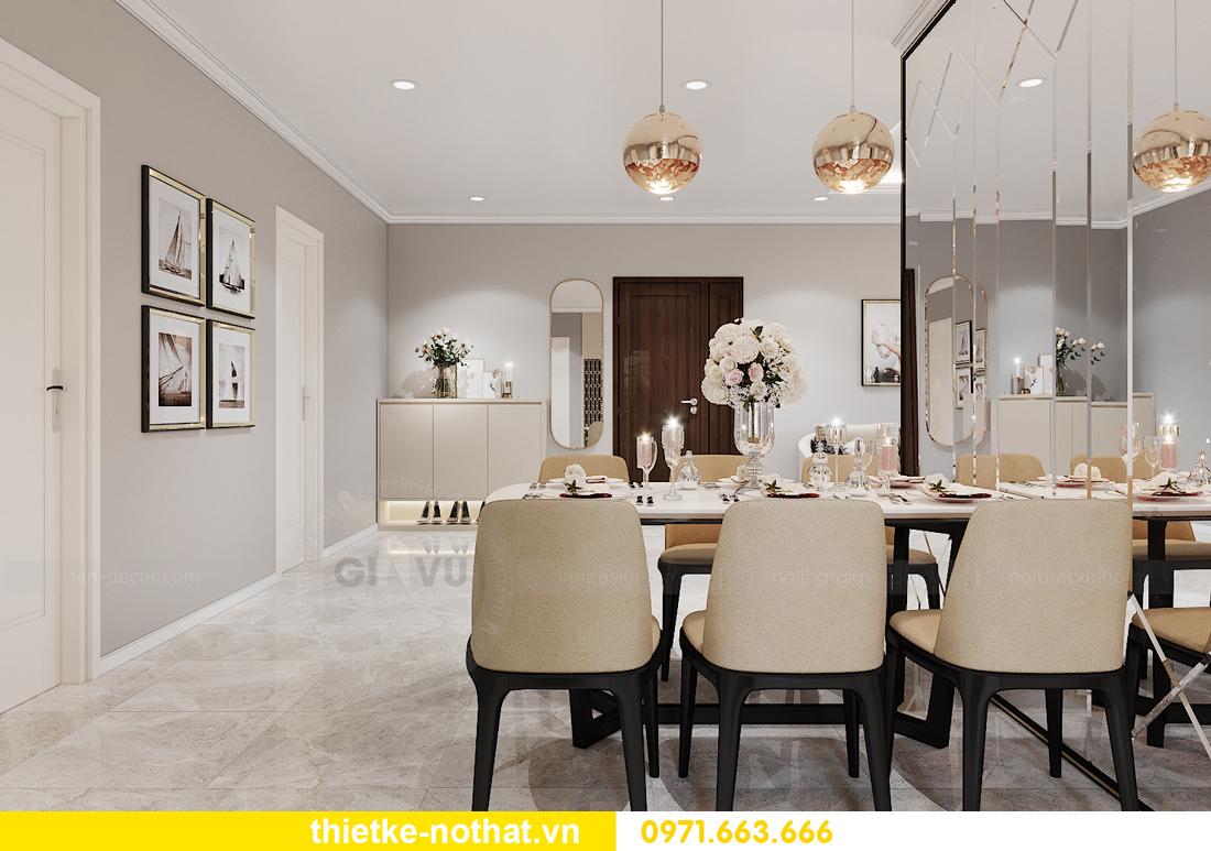 thiết kế nội thất chung cư IA20 Ciputra căn 3 phòng ngủ 5