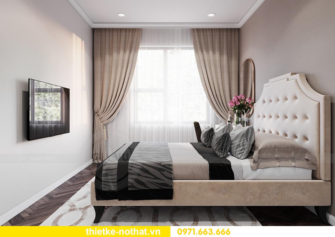 thiết kế nội thất chung cư IA20 Ciputra căn 3 phòng ngủ 8
