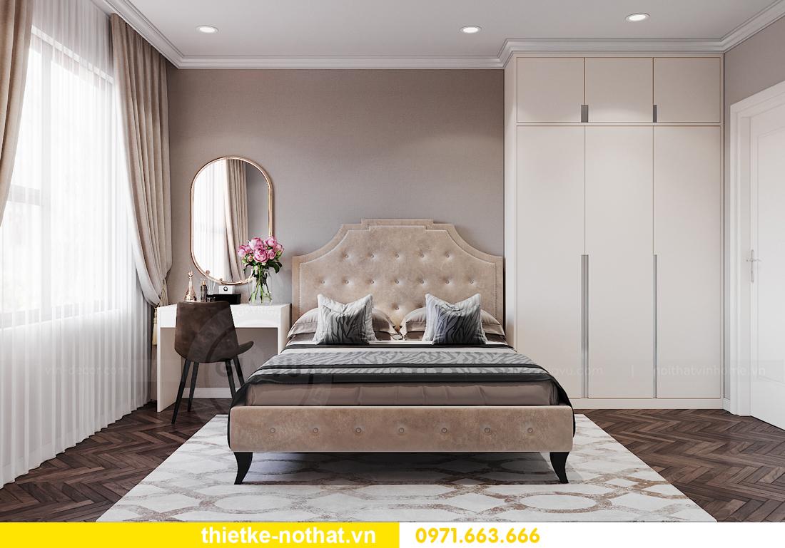 thiết kế nội thất chung cư IA20 Ciputra căn 3 phòng ngủ 9