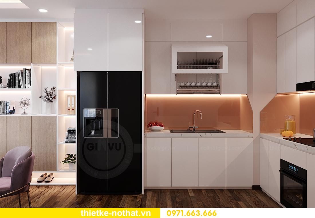 thiết kế nội thất chung cư Vinhomes West Point W1 căn 02 4