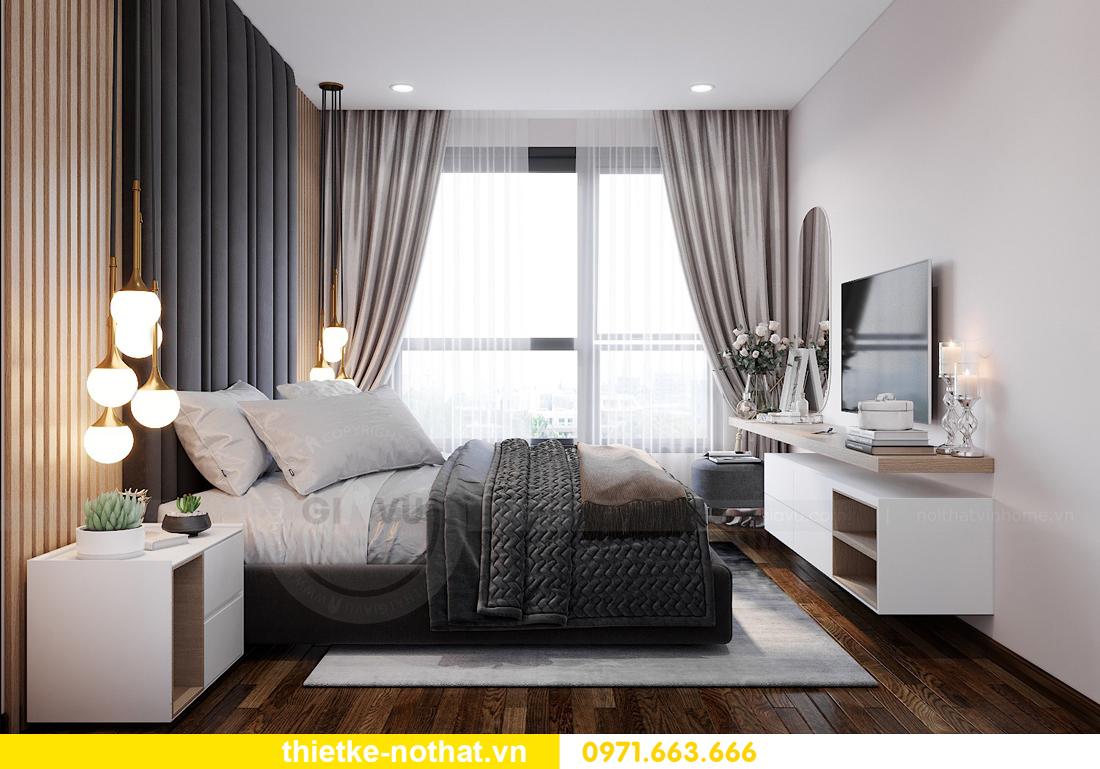 thiết kế nội thất chung cư Vinhomes West Point W1 căn 02 6