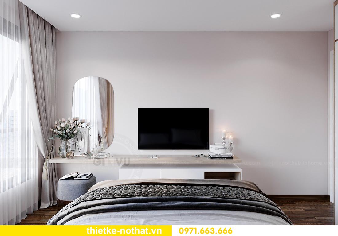 thiết kế nội thất chung cư Vinhomes West Point W1 căn 02 8
