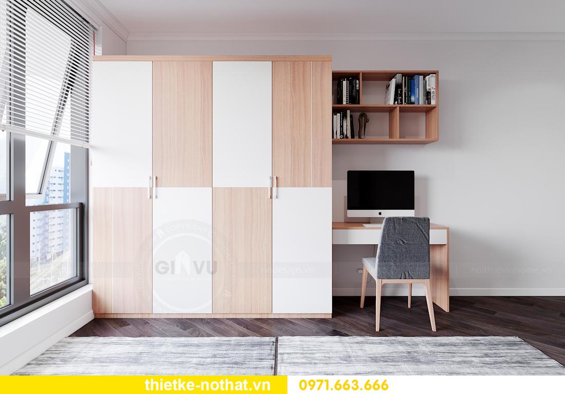 thiết kế nội thất siêu đẹp tại chung cư Sunshine Garden 12