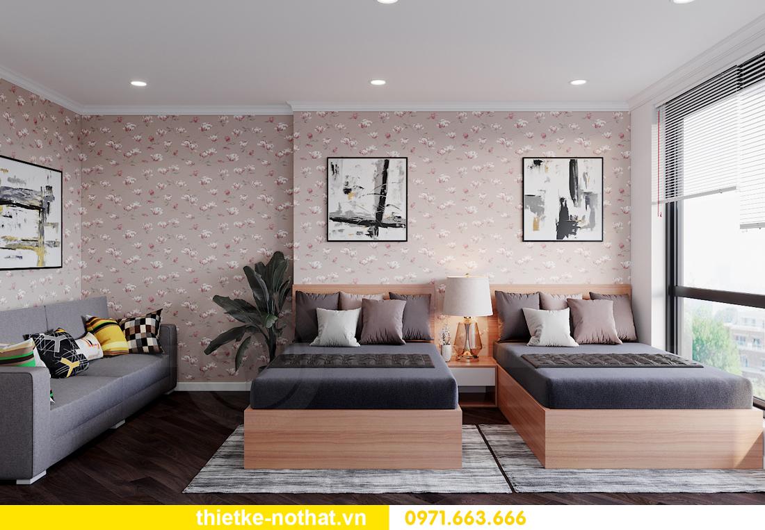 thiết kế nội thất siêu đẹp tại chung cư Sunshine Garden 13