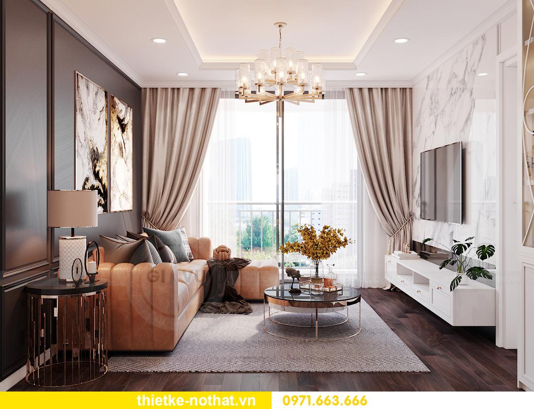 thiết kế nội thất siêu đẹp tại chung cư Sunshine Garden 3