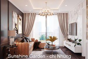 Thiết Kế Nội Thất Siêu đẹp Tại Chung Cư Sunshine Garden