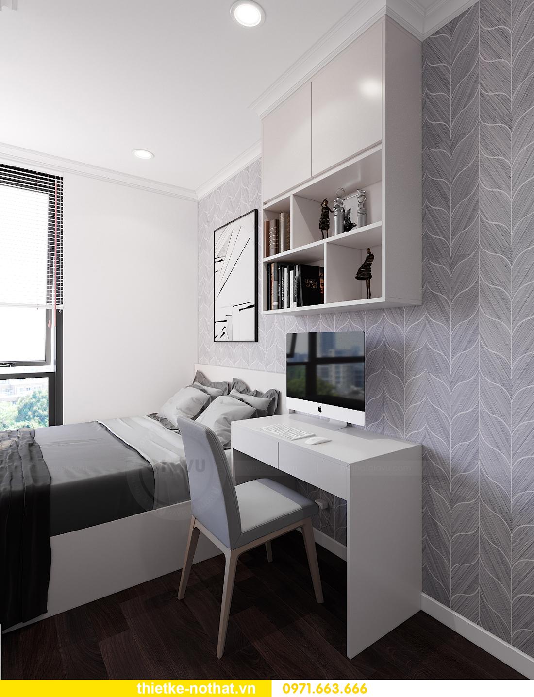 thiết kế nội thất siêu đẹp tại chung cư Sunshine Garden 9