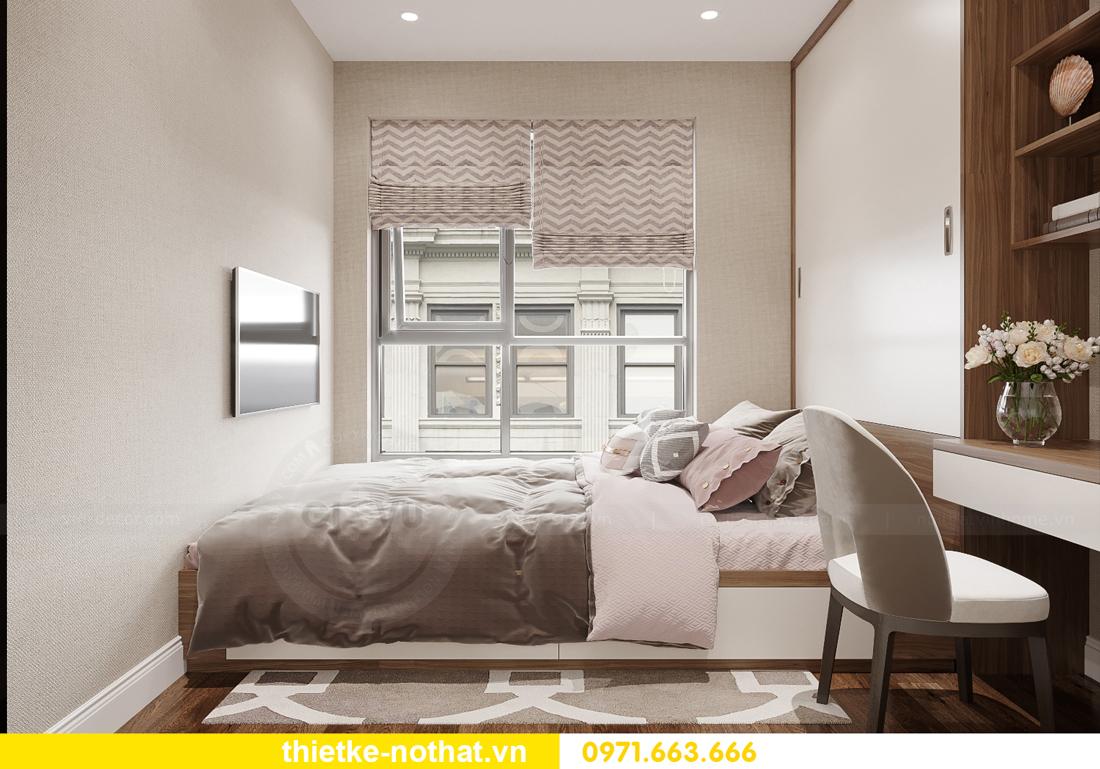 thi công hoàn thiện nội thất Vinhomes Smart City căn 2 ngủ 10