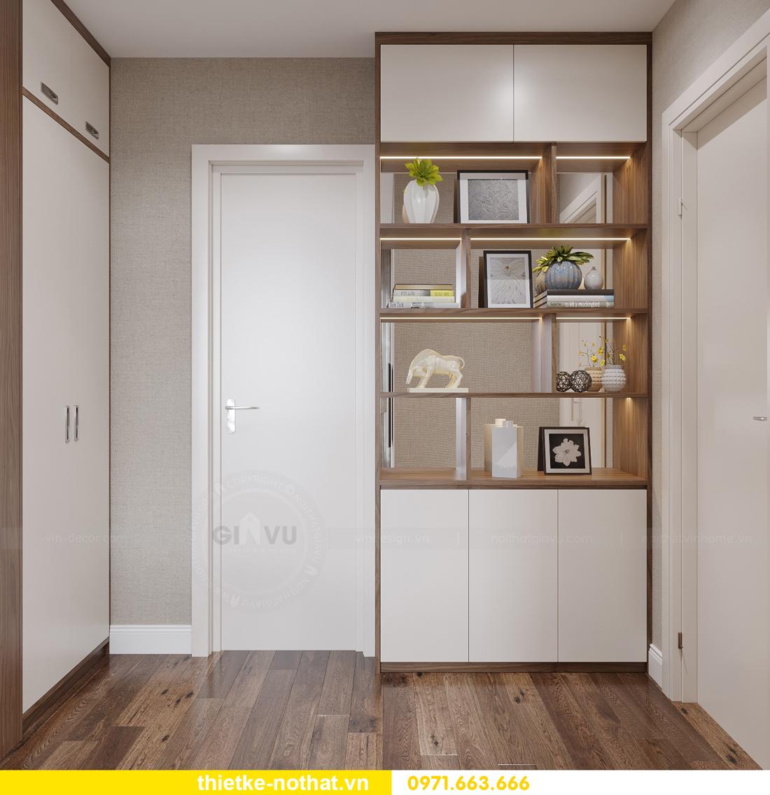 thi công hoàn thiện nội thất Vinhomes Smart City căn 2 ngủ 6