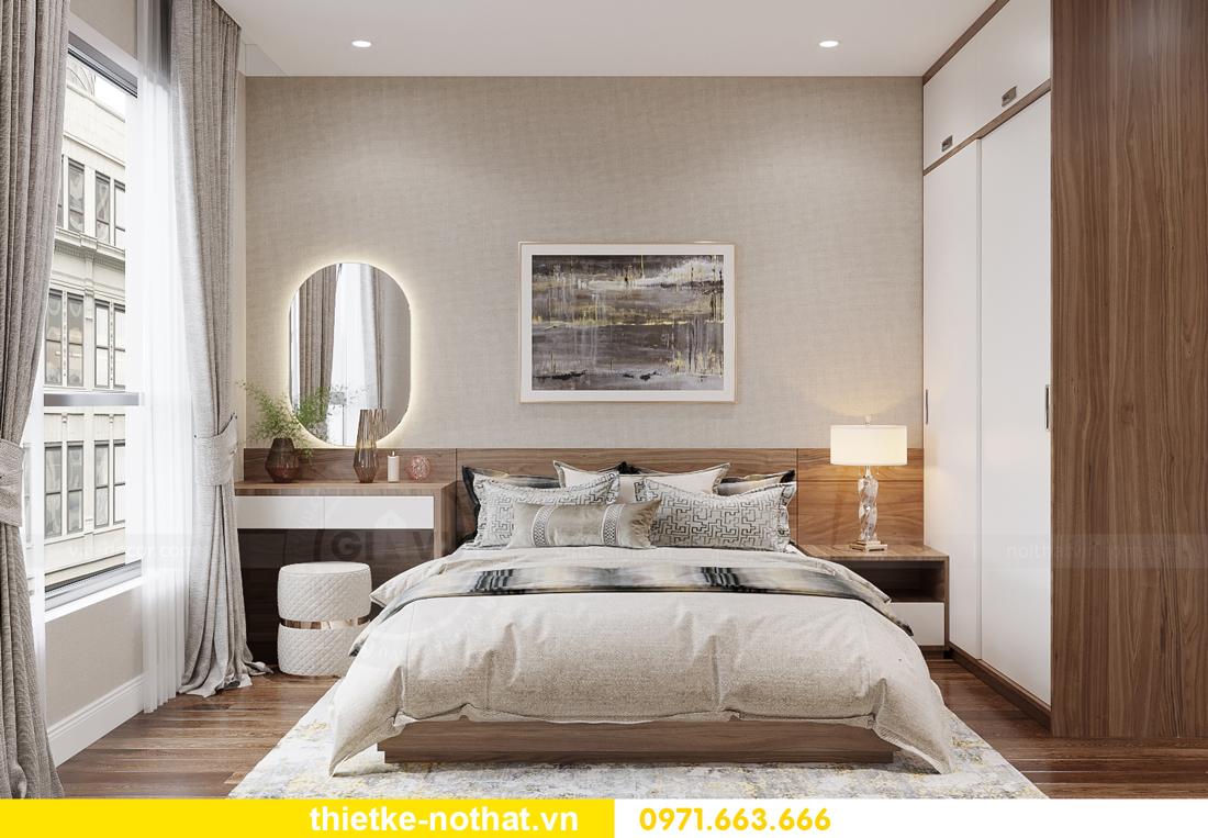 thi công hoàn thiện nội thất Vinhomes Smart City căn 2 ngủ 7