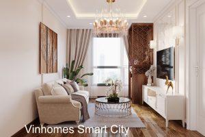 Thiết Kế Nội Thất Căn Hộ Smart City 2 Phòng Ngủ đẹp 10
