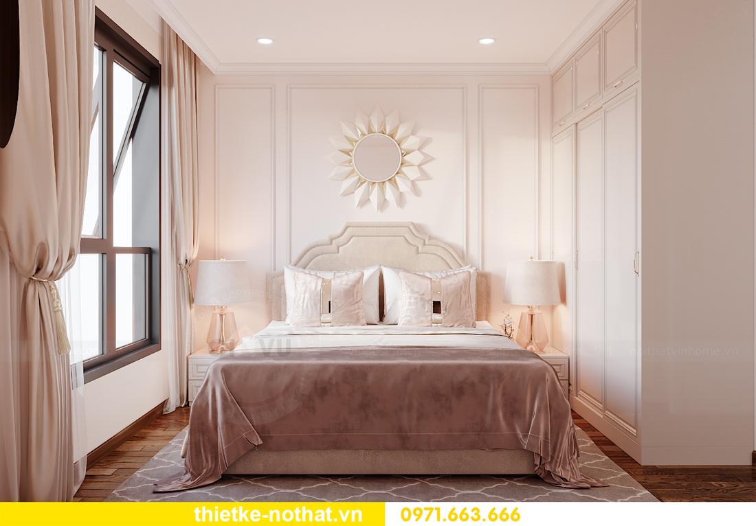 thiết kế nội thất căn hộ Smart City 2 phòng ngủ đẹp 7