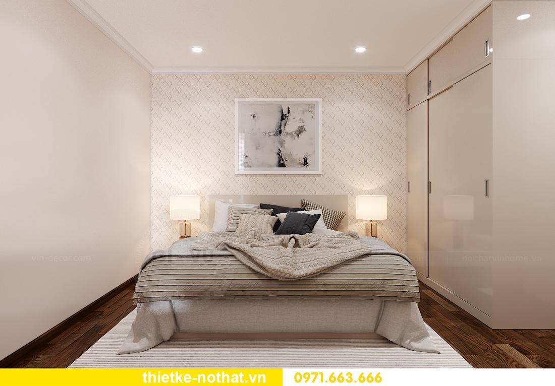 thiết kế nội thất căn hộ Smart City 2 phòng ngủ đẹp 8
